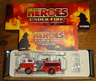NIB Corgi Heroes Under Fire Diecast Fire Engine Bethpage Mack CF Pumper 150