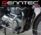 Triumph Bonneville / Thruxton & T100 Renntec Engine Crash Bars 2001   Onwards