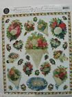 Gifted Line Victorian Stickers Lot Flowers Bouquets Roses John Grossman Borders