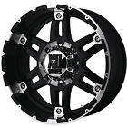 20x9 Black XD XD797 Wheels 5x55 12 Lifted CHEVROLET TRACKER FORD F 150