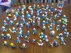 VINTAGE PEYO SCHLEICH BULLY GERMANY APPLAUSE SMURF SMURFETTE PVC FIGURE LOT