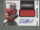 2012 Rookie & Stars Game Jersey Autograph Auto #225 Doug Martin RC 113 499 BSU