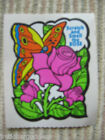 Vintage 80s Mello Smello Scratch  Sniff Stickers Rose Roses Flowers off Roll