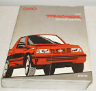 AUTHENTIC 1992 Chevy Geo Tracker Factory Service Shop Manual Repair Book