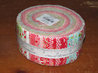 Little Ruby Jelly Roll Bonnie  Camille 40 Prints Quilt Strips 55130JR