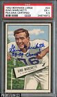 1952 Bowman Large Football #23 Gino Marchetti HOF RC Signed AUTO PSA DNA PSA 5.5