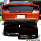 Blk Tinted 2006 2007 2008 Dodge Charger Tail Lights Brake Lamps 06-08 Left+Right