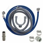 for HOTPOINT Washing Machine Fill Water & Waste Drain Hose Extension Kit 2.5m