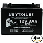 2x Battery for 2001 2002 Polaris Scrambler 50CC