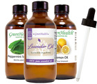 4 oz Essential Oil with Glass Dropper Free Shipping 50+ Oils to Choose from