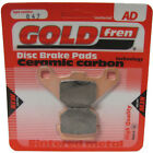 Front Disc Brake Pads for CPI Hussar 50 2001 50cc  By GOLDfren
