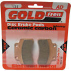 Front Disc Brake Pads for CPI Hussar 50 2004 50cc  By GOLDfren