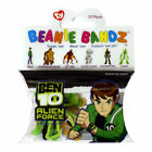 TY CARTOON NETWORK BEN 10 ALIEN COLLECTION BEANIE BANDZ WRIST BANDS NEW