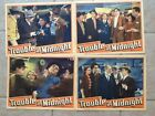 Trouble at Midnight starring Noah Beery Jr.    4 Lobby Cards