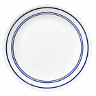 NEW CORELLE CLASSIC CAFE BLUE LUNCHEON PLATES LOT OF 6