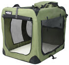 EliteField Sage Green 3 Door Folding Soft Dog Crate Cage Kennel 5 Sizes