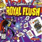 Royal Flush Digital Pinball PC CD '74 Gottlieb Amtex magician cards themed game!