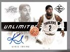KYRIE IRVING 2012-13 PANINI LIMITED UNLIMITED POTENTIAL RC AUTO #105 199 CAVS