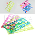 Quilling Ruler Template Tool Kit Circle Size Origami Paper Quilled Creat Tool