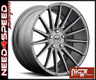19 Niche Form M157 Charcoal Concave Wheels for Nissan Altima Coupe