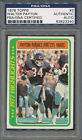 1978 Topps #3 Walter Payton PSA DNA Certified Authentic Auto Autograph *3340