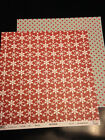 Three Bugs Let It Snow Snow Day 12x12 Papers 2 pcs