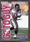 1996  ERIC METCALF - Starting Lineup Card - Atlanta Falcons