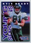 1996  KYLE BRADY - Starting Lineup Card - New York Jets