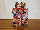 Mary Engelbreit Home Sweet Home Cotton Fabric Handmade sqr Tissue Box Cover ONLY