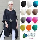 WATERSISTER Cotton Gauze SUNNY Long Tails Tunic Top OS L 2X 3X 2016 COLORS