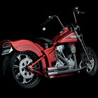 Python Throwbacks 2 into2 Exhaust for 1986 2011 Harley Softail 41515