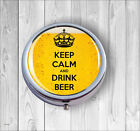 KEEP CALM AND DRINK BEED PILL BOX -fcv7Z