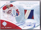 10-11 UD Ultimate P.K. Subban 25 Auto Top Patch Rookie Upper Deck 2010