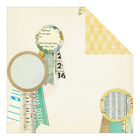 Crate Paper Style Board First Prize 12x12 paper 2 pcs