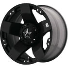 17x9 Black XD775 Rockstar 5x55 12 Wheels Torque MT 35X1250R17LT Tires