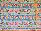 Little Mermaids Underwater Sampler Northcott Fabric by the 1 2 Yard 20634