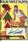 2008 Bowman Elevation - BILL RUSSELL - Autograph Jersey Patch - CELTICS #d 7 7
