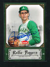 Rollie Fingers #78 signed autograph 2006 Fleer Greats of the Game GOTG Card
