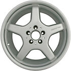 OEM 18X95 Alloy REAR Wheel Sparkle Silver Painted With Flange Cut 560 65280