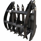 34 Grapple Rake Attachment Mini Skid Steer Toro Dingo Ditch Witch Boxer Kanga