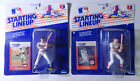 Lot of (2) 1988 Starting Lineup Baseball Wade Boggs & Will Clark BV$40