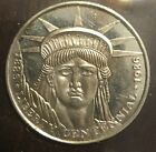 1986 Liberty Bicentennial American Double Eagle 1 Troy Ounce Silver