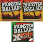 MONSTER BALLADS Platinum Edition 1 & 2 + MONSTER BALLADS XMAS 3 CD Collection