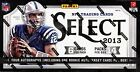 2013 PANINI SELECT FOOTBALL HOBBY 12 BOX CASE