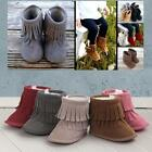 Xmas Newborn Toddler Baby Snow Tassel Boots Soft Sole Warm Baby Boots Crib shoes