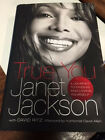 SIGNED FIRST EDITION Janet Jackson TRUE YOU fine in dj