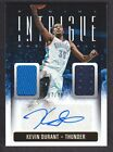 2013-14 Panini Intrigue Dual Jersey Autograph #36 Kevin Durant 07 49 Thunder