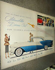 1954 Oldsmobile Ninety Eight DeLuxe Holiday Coupe 2 page Photo AD Spread