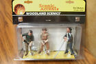 WOODLAND SCENICS RAIL WORKERS G SCALE FIGURES