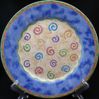 Sango Potpourri Chop Plate Platter Lake Song Sue Zipkin Multicolor Geometric